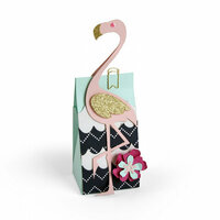 Sizzix - Tim Holtz - Alterations Collection - Bigz Pro Die - Bag, Flamingo