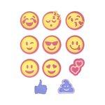 Sizzix - Thinlits Die - Emojis