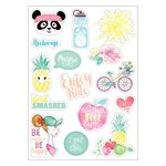 Sizzix - Cardstock Stickers - Planner Page - Icons 2