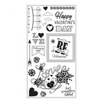 Sizzix - Clear Acrylic Stamps - Be Mine Valentine