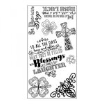 Sizzix - Clear Acrylic Stamps - Celtic St. Patrick's Day