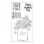 Sizzix - Interchangeable Clear Acrylic Stamps - Mother's Day