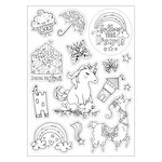 Sizzix - Coloring Stickers - Follow Your Dreams