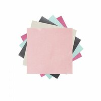 Sizzix - Brite-ons Paper Pack - 6 x 6 - 25 Sheets