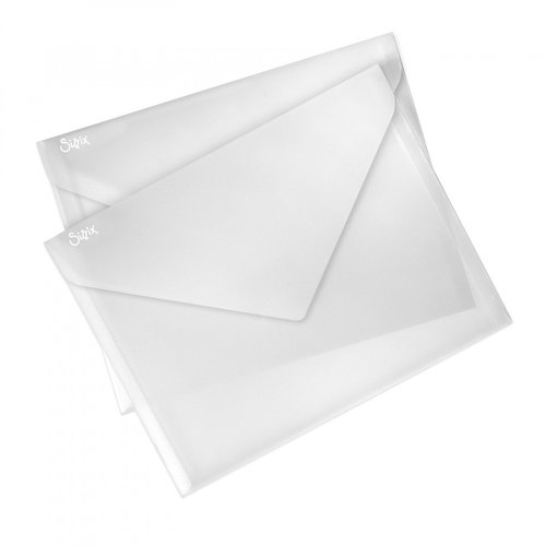 Sizzix - Accessory - Plastic Envelopes, 9 x 11.75, 2 Pack