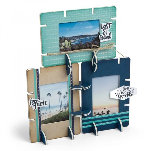 Sizzix - Picture This Collection - Bigz Die - Frame, Staxables