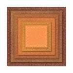 Sizzix - Tim Holtz - Alterations Collection - Framelits Dies - Stitched Squares
