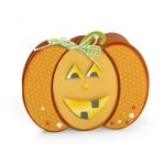 Sizzix - Framelits Die Set - Pumpkin Fold-its