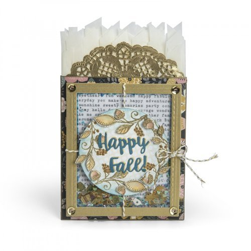 Sizzix - Pumpkin Spice Collection - Framelits Die - Multi-Frame Shaker Pocket