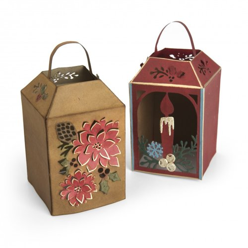Sizzix - Tis the Season Collection - Thinlits Die - Winter Lantern