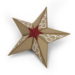 Sizzix - Tis the Season Collection - Bigz Die - Christmas Star, 3D