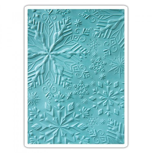 Sizzix - 3D Textured Impressions - Embossing Folders - Winter Snowflakes