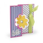 Sizzix - Cards That Wow Collection - Framelits Die - Card, Flip-its Base