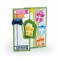 Sizzix - More Cards That Wow Collection - Framelits Die - Gift Flip-its Insert