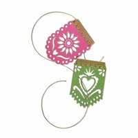 Sizzix - My Happy Life Collection - Thinlits Die - Banners, Papel Picado