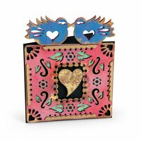Sizzix - My Happy Life Collection - Thinlits Die - Birds 4