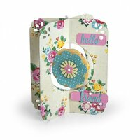 Sizzix - Thinlits Die - Card, Flower