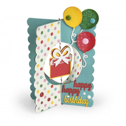 Sizzix - Thinlits Die - Card, Gift