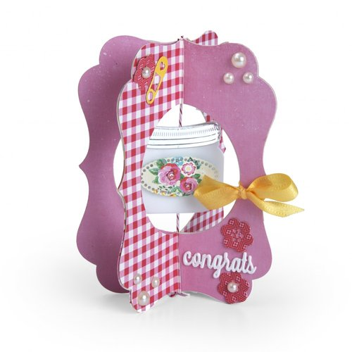 Sizzix - Thinlits Die - Card, Jar
