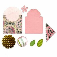 Sizzix - Framelits Die - Bookmark, Tag and Pocket