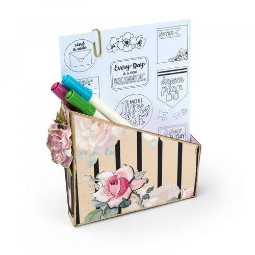 Sizzix - ScoreBoards XL Die - Card Box, Planner Storage and Organizer