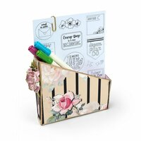 Sizzix - ScoreBoards XL Die - Card Box, Planner Storage and Organizer