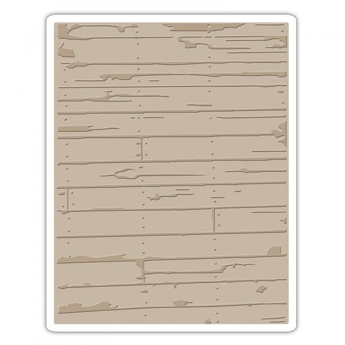 Tim Holtz/Sizzix Wood Plank Embossing Folder