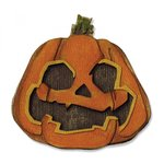 Sizzix - Tim Holtz - Alterations Collection - Halloween - Thinlits Die - Layered Jack-o-Lantern