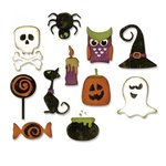 Sizzix - Tim Holtz - Alterations Collection - Thinlits Die - Mini Halloween Things
