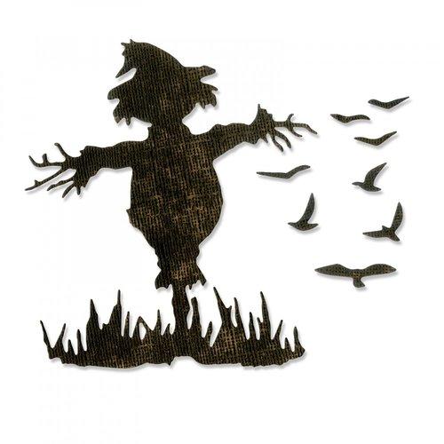 Sizzix - Tim Holtz - Alterations Collection - Halloween - Thinlits Die - Scarecrow