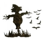 Sizzix - Tim Holtz - Alterations Collection - Halloween - Thinlits Die - Scarecrow
