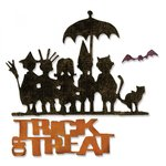 Sizzix - Tim Holtz - Alterations Collection - Halloween - Thinlits Die - Trick-or-Treat