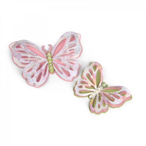 Sizzix - Thinlits Die - Large Delicate Butterfly