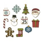 Sizzix - Tim Holtz - Alterations Collection - Thinlits Die - Mini Christmas Things