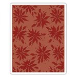 Sizzix - Tim Holtz - Alterations Collection - Christmas - Texture Fades - Embossing Folder - Poinsettias
