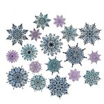 Sizzix - Tim Holtz - Alterations Collection - Framelits Dies - Swirly Snowflakes
