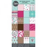 Sizzix - Sweet Christmas Collection - 6 x 12 Cardstock Pad
