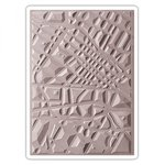 Sizzix - 3D Textured Impressions - Embossing Folders - Map