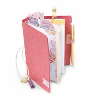 Sizzix - Planner Pages and More Collection - Bigz L Die - Pocket Traveler's Notebook