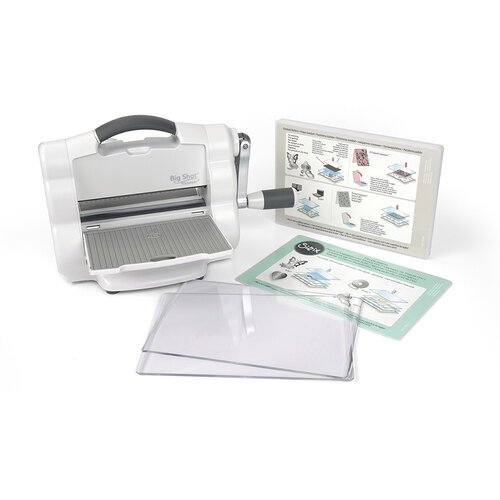 Sizzix - Big Shot Foldaway Machine Only - White and Gray