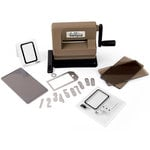 Sizzix - Tim Holtz - Alterations Collection - Sidekick - Starter Kit - Brown and Black