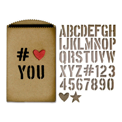Tim Holtz Gift Bag Die