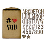 Sizzix - Tim Holtz - Alterations Collection - Thinlits Die - Gift Card Bag