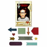 Sizzix - Tim Holtz - Alterations Collection - Thinlits Die - Pocket Frame