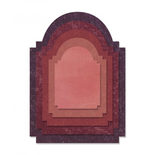 Sizzix - Tim Holtz - Alterations Collection - Thinlits Die - Stacked Archway