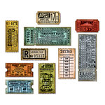 Sizzix - Tim Holtz - Alterations Collection - Framelits Dies - Ticket Booth