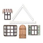 Sizzix - Tim Holtz - Alterations Collection - Thinlits Die - Village Fixer Upper