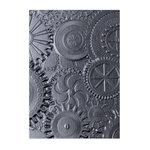Sizzix - Tim Holtz - Alterations Collection - 3D Texture Fades - Embossing Folder - Mechanics