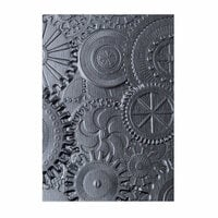 Sizzix - Tim Holtz - Alterations Collection - 3D Texture Fades - Embossing Folder - Mechanics
