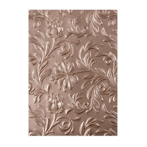 Sizzix - Tim Holtz - Alterations Collection - 3D Texture Fades - Embossing Folder - Botanical
